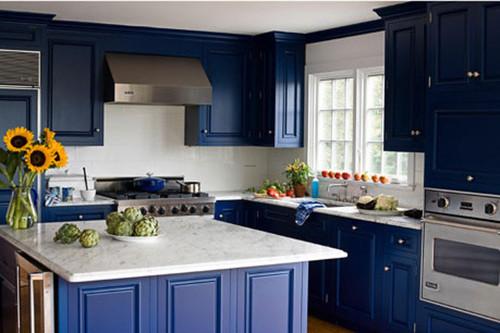 Blue Kitchens: 10 Bright Ideas