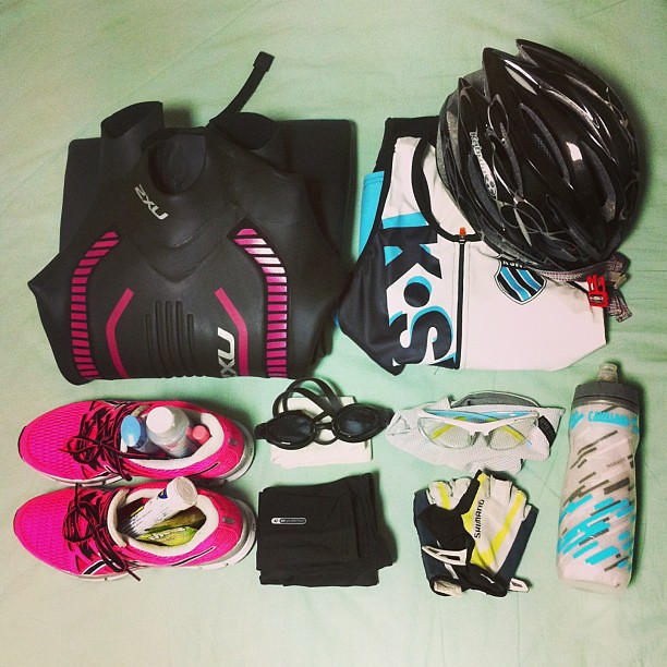 Race day gear! #triathlon