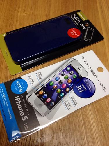 iPhone 5 ケースとフィルム