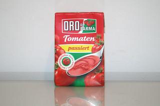 04 - Zutat passierte Tomaten / Ingredient tomatoes