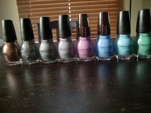 Sinful Colors Haul