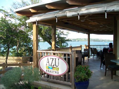 AZU Beastro [sic] at The Bermuda Aquarium and Zoo.