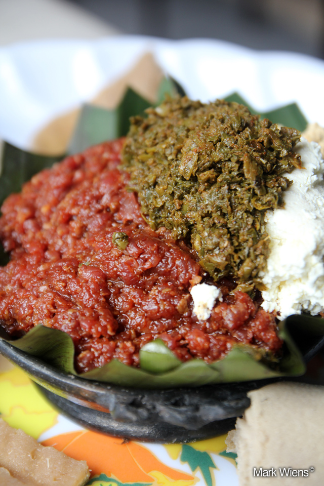 10246494735 d47ba8c861 o Ethiopian kitfo, raw beef that will melt in your mouth