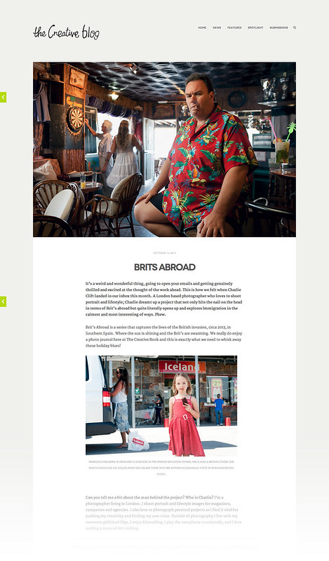 Brits Abroad featured on The Creative Blog