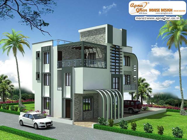 Apna ghar elevations joy studio design gallery best design for Ghar plans design