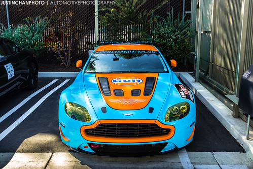 V12 Vantage GULF Wrap | by Justin Chan Photography