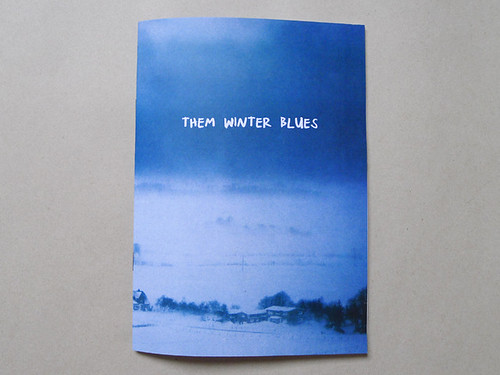 'themWINTERblues' zine