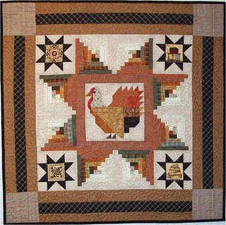 Star Turkey ~Quilt by Sew Many Visions.com