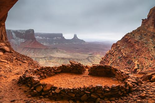False Kiva, Canyonlands National Park
