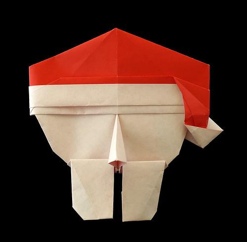 Origami Face Santa (David Petty)