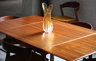Resourceful Skovmand Andersen Danish Mid Century Modern Expandable Teak Dining Table for Moreddi (Denmark, 1960s)
