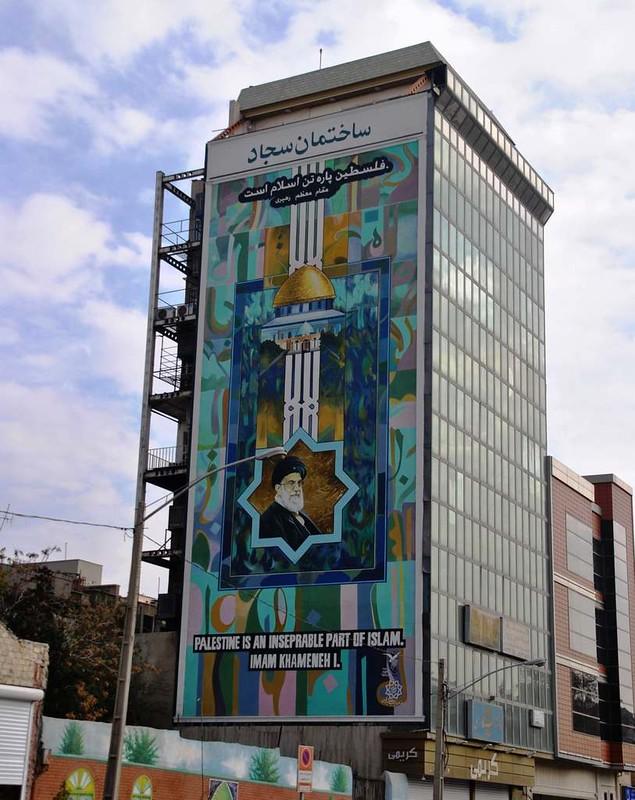 197 Murales en Teheran