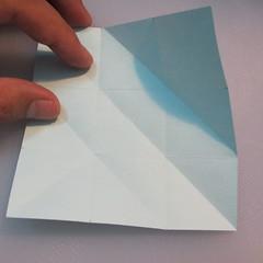 การพับกระดาษรูปดาวกระจาย (Star Origami – スターの折り紙) 004