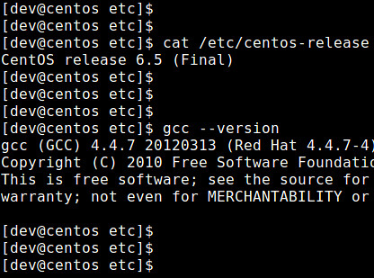 install gcc 4.7 without root
