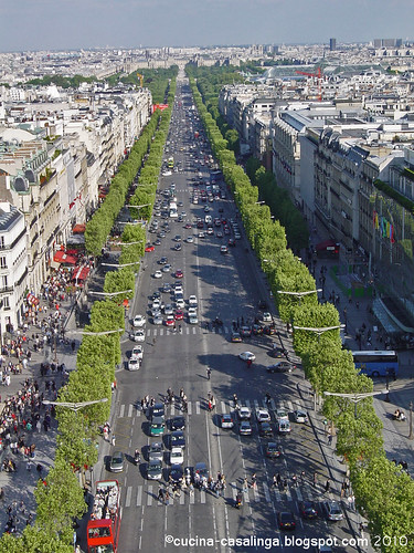 Arc de Triomphe - Blick Champs Elysses