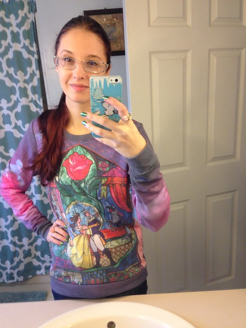 sweater beauty and the beast nerd allure