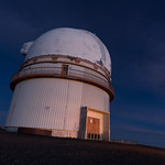 The telescope at Mauna Kea