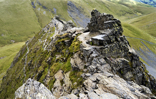 Sharp Edge - Looking Down