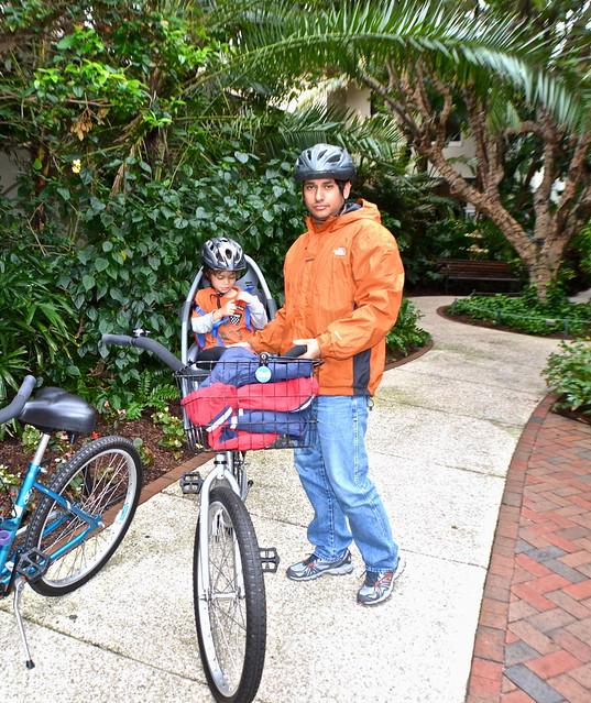 The Breakers Hotel, Palm Beach, Florida - Bike Rentals - child seat