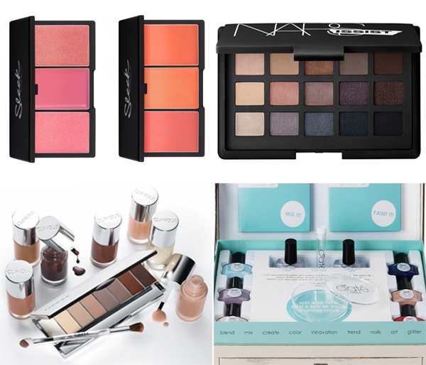 new beauty releases: Nars Narsissist Palette, Sleek Blush By 3 in Pink Lemonade and Californ.I.A, Ciate Nail Lab and Clinique 16 Shades of Beige Collection