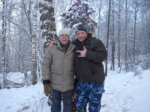 Заместитель Главы г. Бердска Тюхаев В. А. (справа)