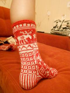 нога пупсика в носке 2
