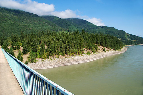 Fraser River at Boston Bar, Fraser Canyon, British Columbia, Canada