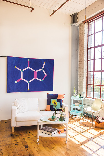 Molecular from Quilt Lab by Alexandra Winston. Stash Books