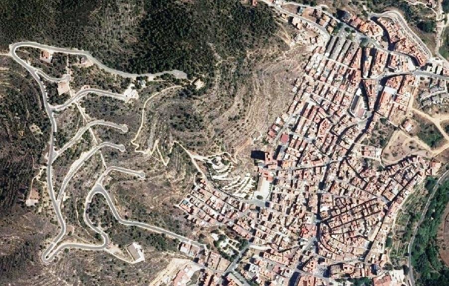 después, urbanismo, foto aérea,desastre, urbanístico, planeamiento, urbano, construcción, azulejo, triángulo del azulejo