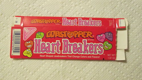 Willy Wonka Gobstoppers Heart Breakers box-1993