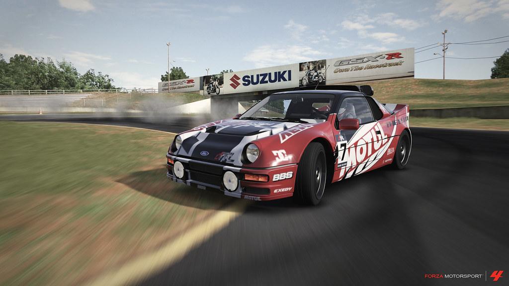"""Motul Oil"" RS200 in Action at Formula Drift: Road Atlanta"