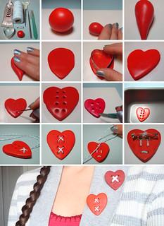 Mended Heart Tutorial