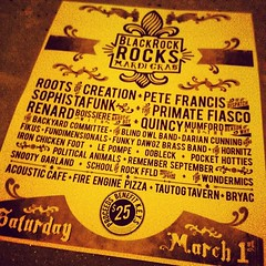 Sat. 3/1 BlackRock ROCKS Mardi Gras! 22 bands, 4 venues—only $25! Proceeds benefit K.E.Y.S #brrmg #blackrock #bridgeport