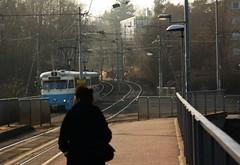 Tram 7 arriving