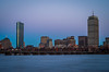 Boston at dusk by tehchix0r