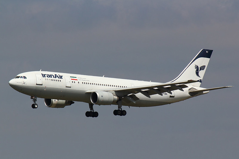 Iran Air - A306 - EP-IBA (1)