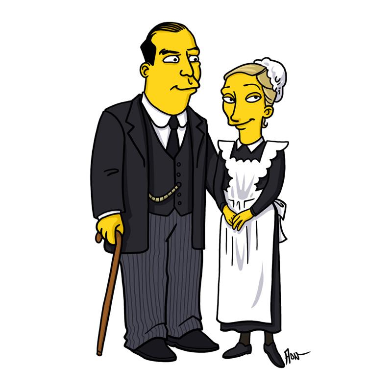 John & Anna May Bates