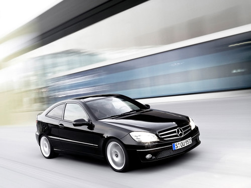 2008 Mercedes-Benz CLC Sports Coupe