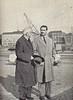 José María Pemán y Vicente Ramos (Estocolmo, octubre 1958)