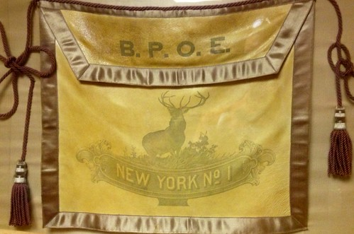 Elks Lodge No. 1/ Hotel Diplomat, NYC, NY (Elks Lodge No. 1 Tapestry)