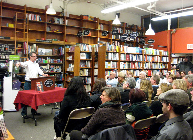 Alex Myers at Harvard Bookstore, 31 Jan 2014