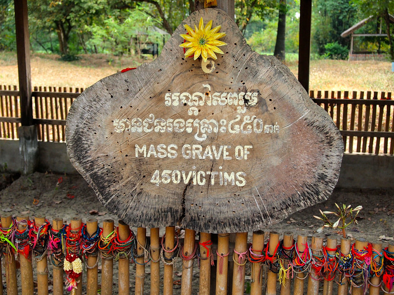 Choeung Ek Killing Fields in Cambodia