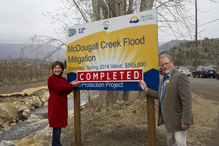 McDougall Creek flood protection in place for spring