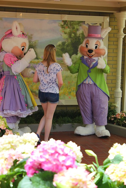 Easter Bunny at Walt Disney World