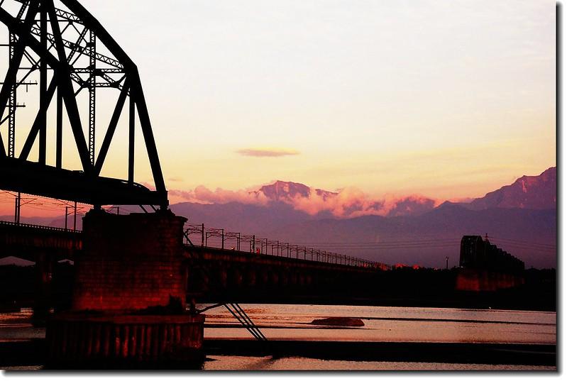 高屏舊鐵橋夕照 23
