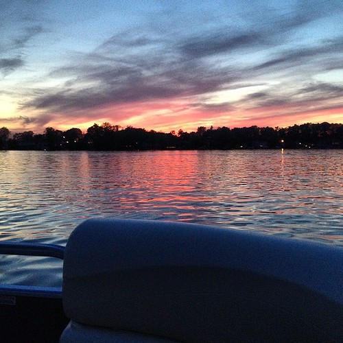 Sunset cruise.