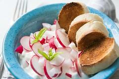 Cottage Cheese Radish Salad