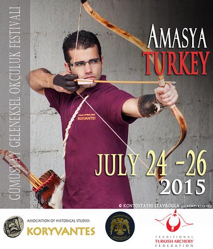 Συμμετοχή στους 4ους Διεθνείς Αγωνες της Αμάσειας ,Τουρκία,  24-26 Ιουλίου 2015