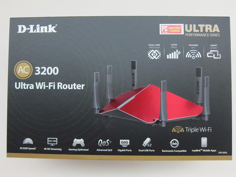 D-Link DIR-890L - Box Front