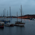 Preston Dock at Twilight